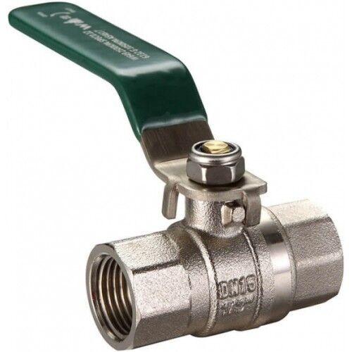 Logi Válvula De Palanca De Bronce manejado Válvula de bola doble aprobado - 15 mm, 20 mm, 25 mm o 32 mm