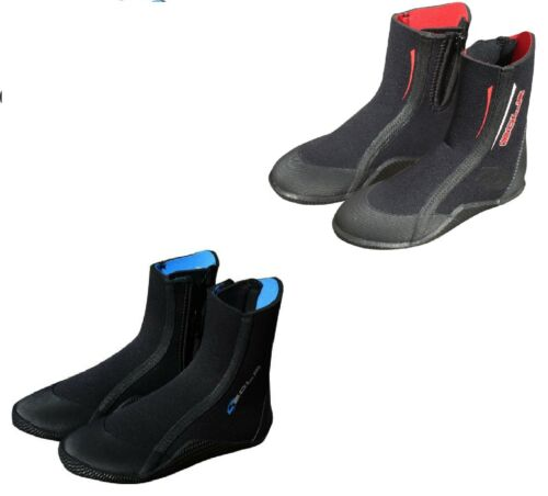 Kids Sola 5mm Neoprene Zipped All Purpose Wetsuit Boots Childrens sizes