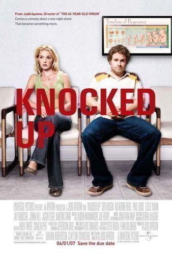 Movie Poster KATHERINE HEIGL Flyer KNOCKED UP SETH ROGEN 10.75x17