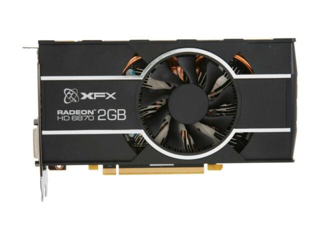 XFX AMD Radeon HD 6870 (HD-687A-ZHFC) 1GB / 1GB (max ...