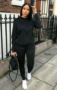 New Women Ladies Lounge-wear 2 Piece Sweatshirt Trouser Tracksuit