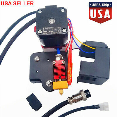 Replaced Extruder HotEnd Kit 0.4mm Nozzle For Creality CR-10 3D Printer Part