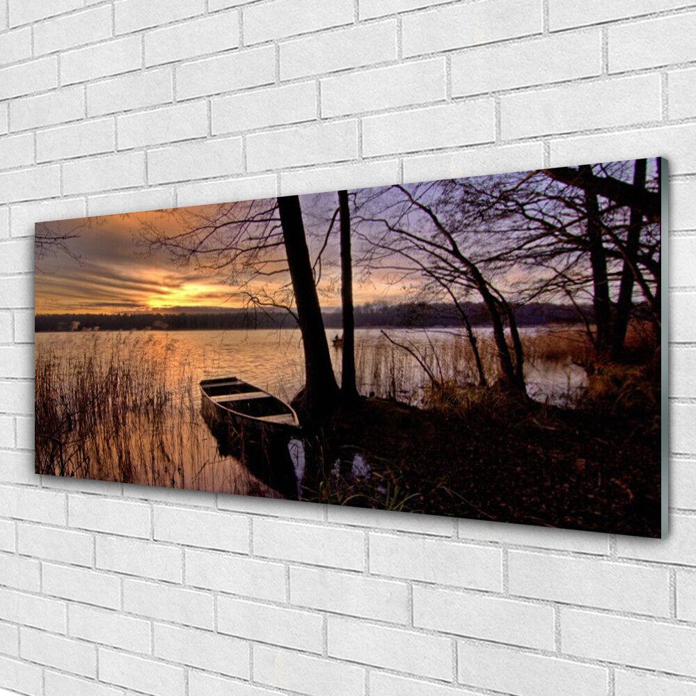Acrylglasbilder Wandbilder aus Plexiglas® 125x50 Meer Stiefel Landschaft