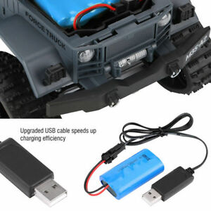 WPL-RC-Car-Accessory-Upgrade-7-4V-500mAh-Rechargeable-Lipo-Battery-USB-Charger-c