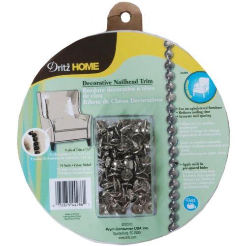 Dritz Home Decorative Nailhead Trim 5yd-silver 5ydsilver 44286 Upholstery
