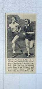 1953-Sylvia-Needham-And-Sister-Hazel-Keeping-Fit-On-The-Track