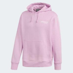 ADIDAS KAVAL OTH HOODY Cloud White-Pink logo sweatshirt jumper new