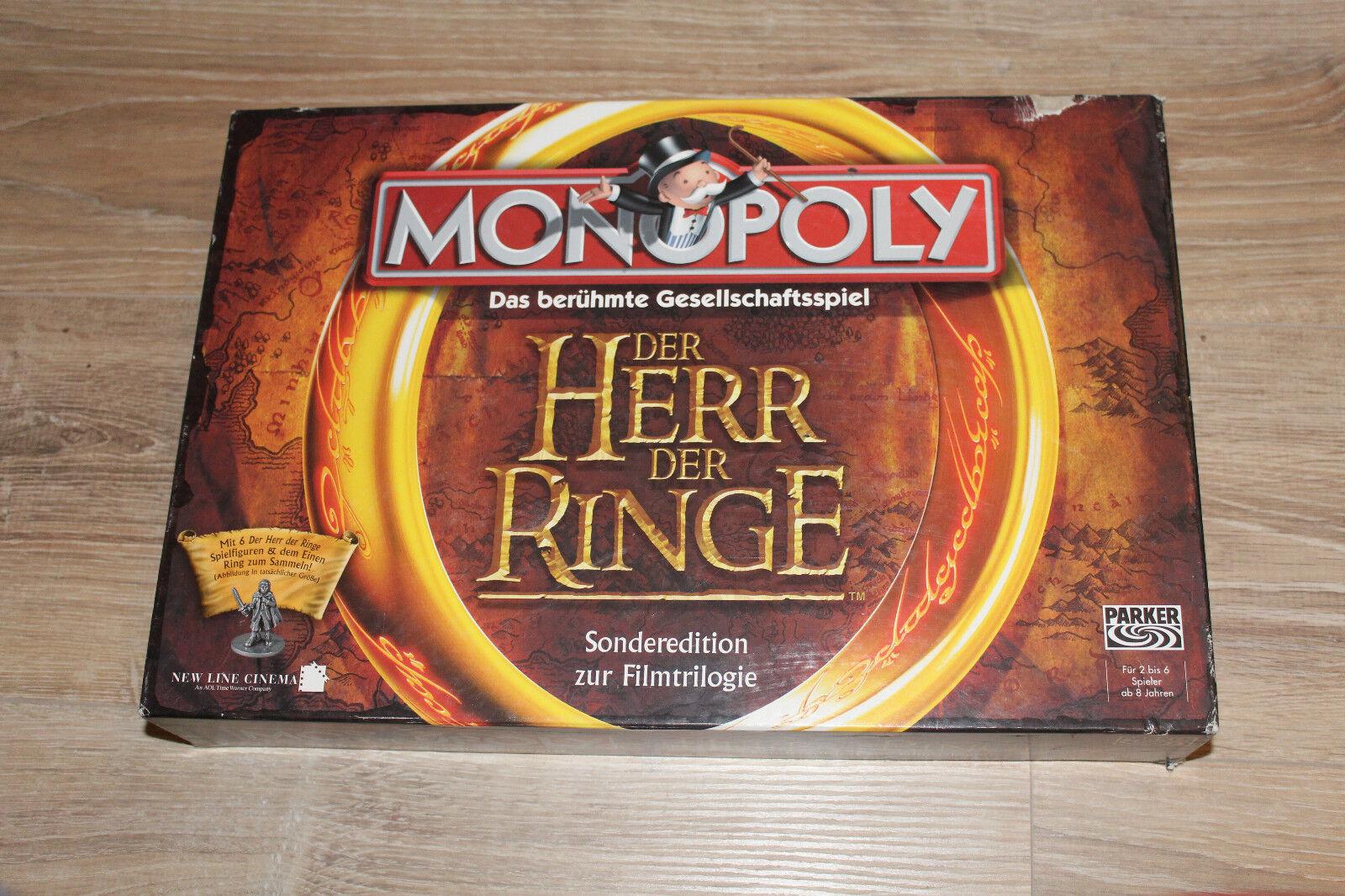Monopolio de LOTR por Hasbro