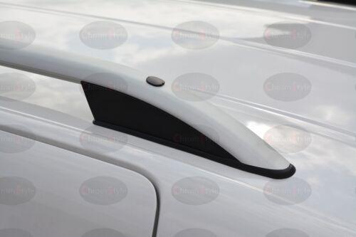 Fiat Doblo Kurz Dachreling Dachgepäckträger Robust ab Bj 2001-2009 Silver