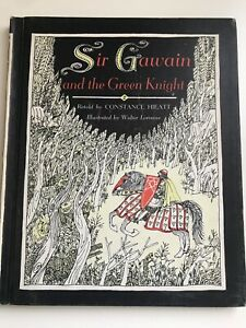 Sir-Gawain-and-the-Green-Knight-CONSTANCE-HIEATT-1967-hc-PICTURE-BOOK-1967-1st