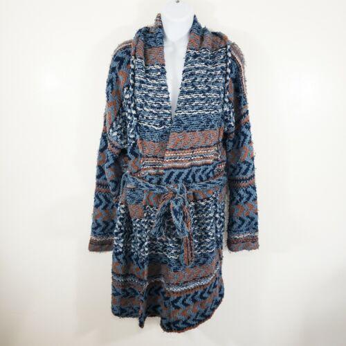 Free People Women's Western Belted Cardigan Size M
