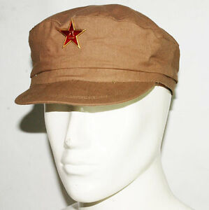 WW2 CHINESE ARMY MILITARY OFFICER TYPE 50 COTTON HAT CAP SIZE L