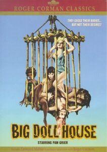 Nuevo-gran-casa-de-Munecas-Roger-Corman-Clasico-DVD-con-Folleto-de-8-paginas-Pam-Grier