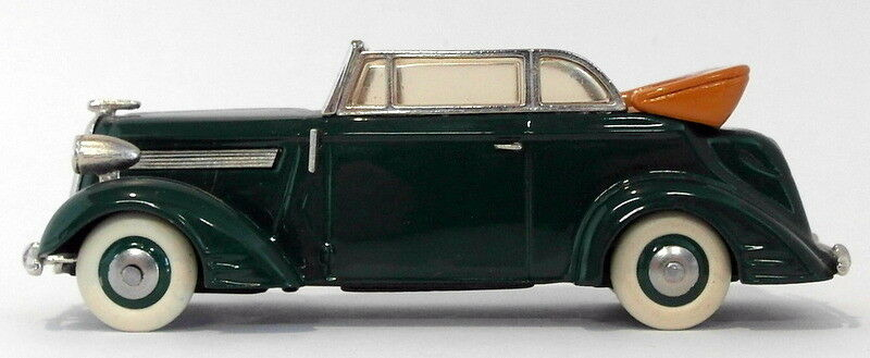 Tin Wizard 1 43 Scale TW11 - 1938 Opel súper 6 Cabriolet - verde