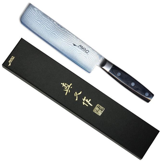Japonais MAC couteau DA JU-180 Damascus Series 7  légumes Cleaver, fabriqué au Japon
