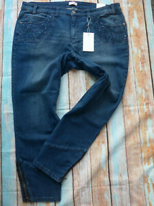 Sheego-Women-039-s-Trousers-Jeans-Size-44-to-58-Blue-Long-Normal-326-New