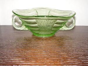 Glass The Best Vintage Sowerby Elephant Bowl Bagley/sowerby/davidson