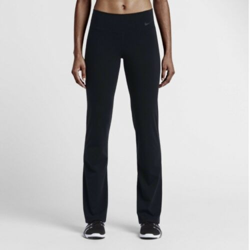 mujer Slim Xs entrenamiento nuevos Fit Nike para Legend Pantalones Talla Dri de fit Negro xBTqgOI