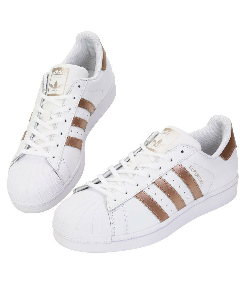 Adidas Originals Superstar BA8169 athlétique Sneakers chaussures blanc & Gold