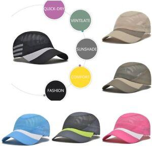 f66468c66a2 Hip-Hop Baseball Cap Running Sports Sunproof Sun Hat Summer Hiking ...