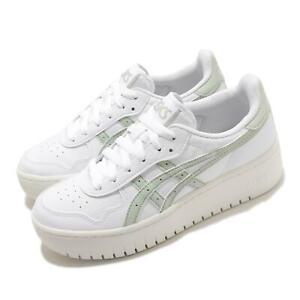 Details about Asics Japan S PF White Lichen Rock Women Casual Platform Shoes 1202A024-104