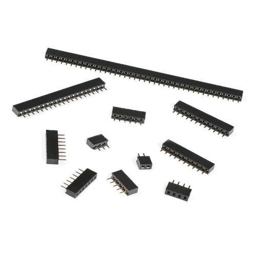 1x40P conector Il 2.0mm sola fila encabezado de Pin Hembra Recto Socket 1x2P