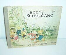 Teddys Schulgang Bilderbuch Fritz Baumgarten & Friedrich Zöbicker ORIGINAL !