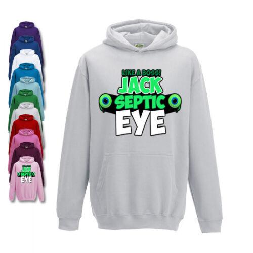 Jacksepticeye  Childrens Hoodie Girls Or Boys Fit Like A Boss Design