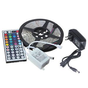 LED-Stripe-5050-SMDRGB-Leiste-Streife-Band-Lichter-Licht-Leuchte-Lichterkette-5M