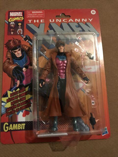 """Marvel Legends X-Men Retro Gambit Vintage Collection 6"""" Hasbro TARGET EXCLUSIVE"""