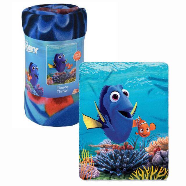 Disney Finding Dory Fleece Throw Blanket Nemo Childrens 40 X 40 Inch Interesting Disney Finding Nemo Fleece Throw Blanket