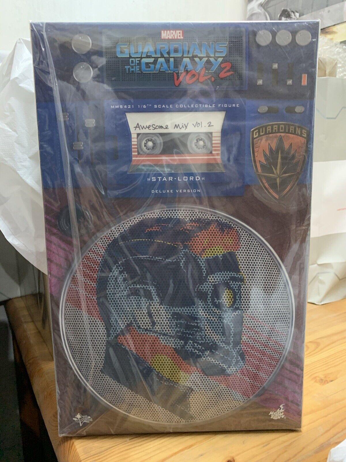 BNIB heta leksaker MMS421  6 Guardians of the Galaxy GOTG Vol 2 stjärna Lord Deluxe LTD.