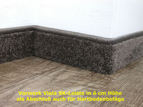 patentierte Sockelleisten selbsklebend Anfertigung aus Ihren Reste in 6 cm Höhe