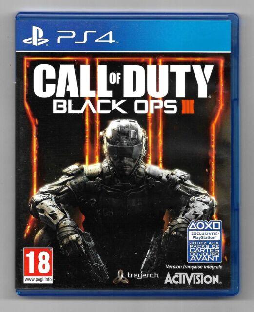 call of duty black ops III - jeu Sony Playstation 4 PS4