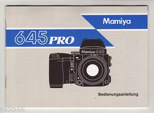 3-languages-to-pick-MAMIYA-645-PRO-INSTRUCTION-MANUAL-ORIGINAL-PRINT