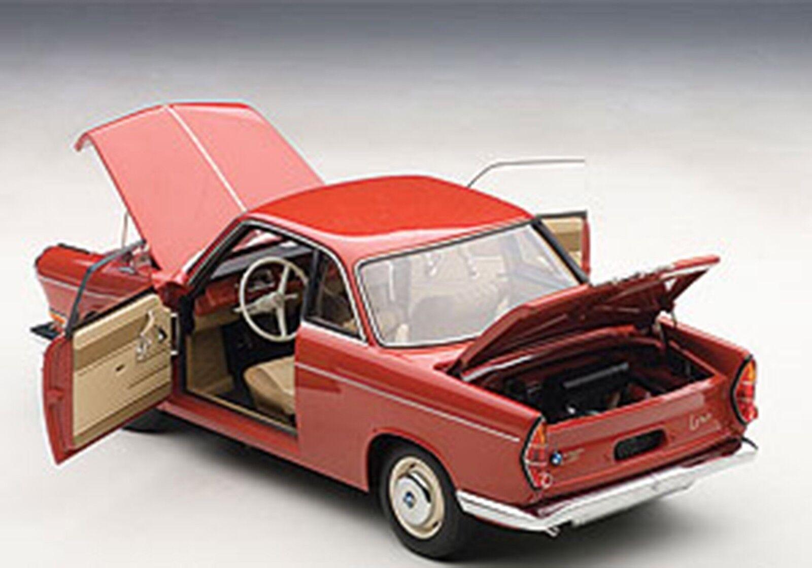 Autoart BMW 700 Coupé Sport Espagnol Couleur Rouge 1 18 Échelle