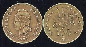 Nouvelle Caledonie 100 Francs 1976 ( Bis )