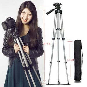 Portable Professional Adjustable Camera Tripod Stand For Cell Phone Mount Holder