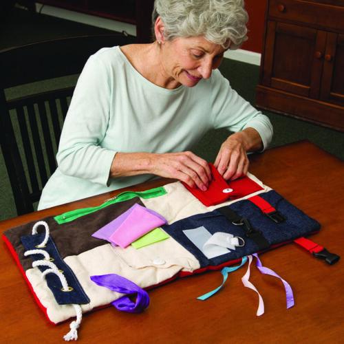 Fidget /& Sensory Pad for Dementia /& Alzheimer/'s