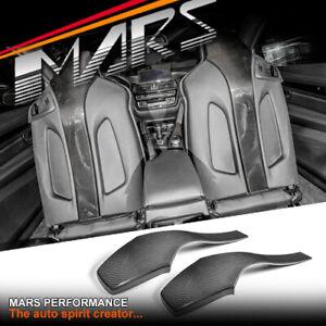 MARS Carbon Fibre Front Seat Cover Interior Trim for BMW M3 F80 & M4 F82 F83