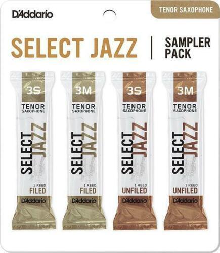 Daddario ance sax tenore DSJK3S Sampler Pack box da 4