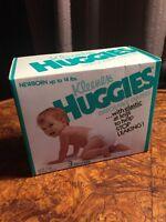 Rare Vintage Huggies Diapers Born 1978 Kleenex Brand