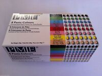 PME 8 gel Paste Icing Colours Hot Pink Red Green Black Yellow Blue Gold / Ivory