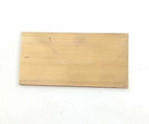 "1/"" x 2/"" C360 BRASS FLAT BAR 2/"" long Solid 1.00/"" Plate Mill Stock H02"