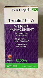 Natrol Tonalin CLA Weight Management Softgels 1200mg - 60 Ct