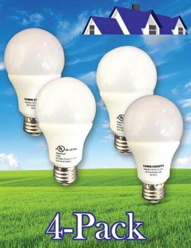 Natural White 4000K BUY 2 get 2 free 60 W  A19 LED Light Bulb 806 Lumens