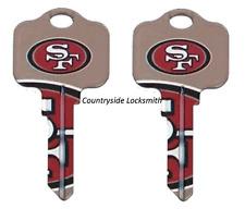 NFL San Francisco 49er/'s SC1 Blank House Key