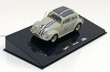 1:43 Hot Wheels Elite VW Beetle #53, Herbie the Love Bug 1962