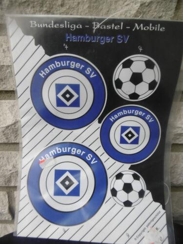 Neues HSV Hamburg Bundesliga Bastel-Mobile  Hamburger Sportverein