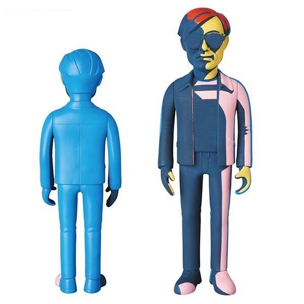 Andy Warhol Vinyl Silkscreen Grün Ver.  Figure Medicom Toy VCD JAPAN
